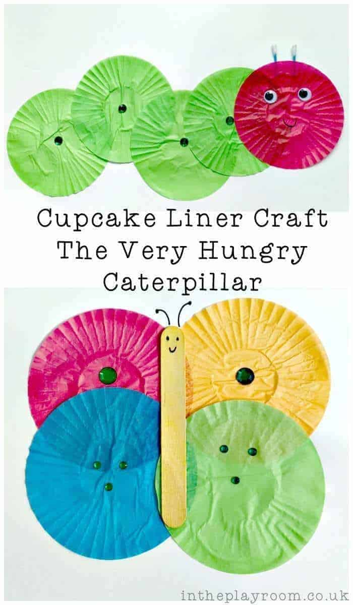 very hungry catepillar art