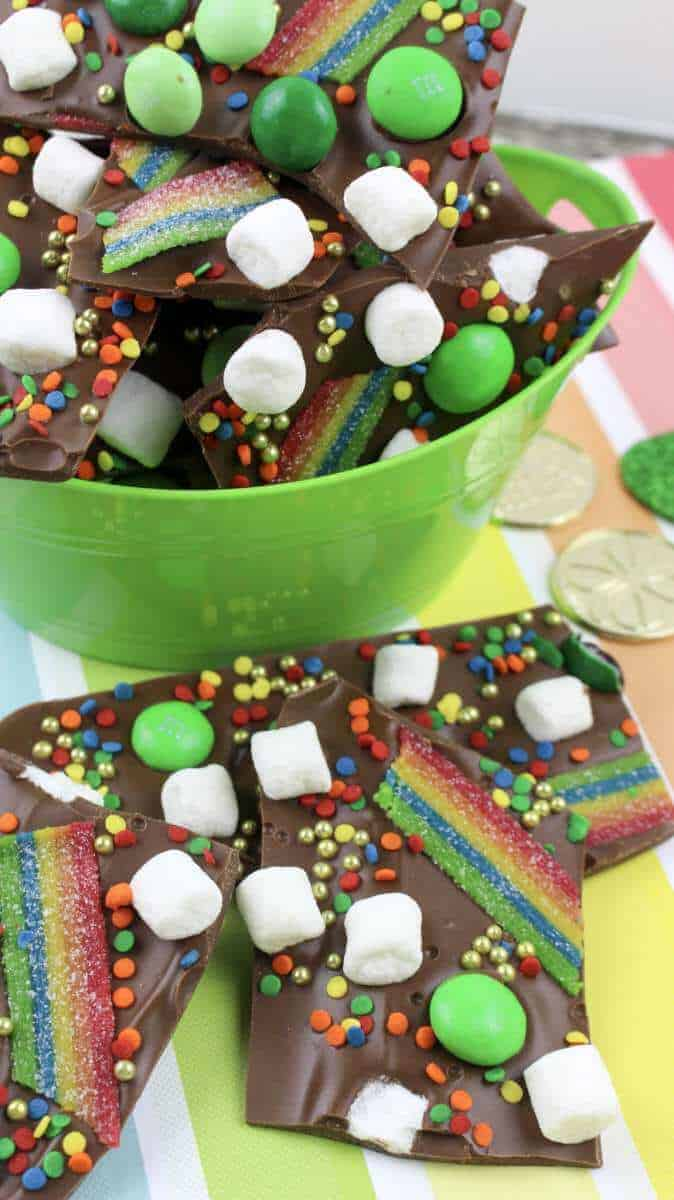 saint patricks day bark