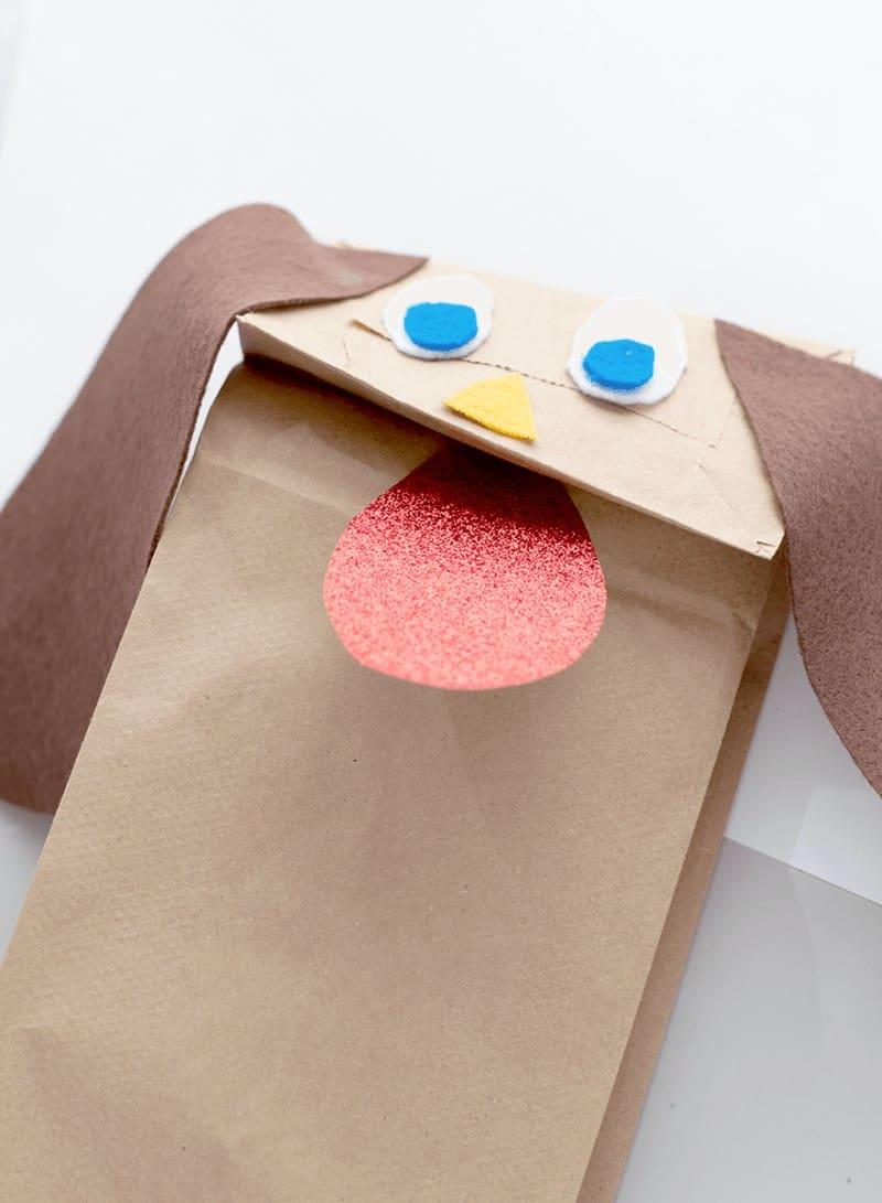 puppy puppet craft