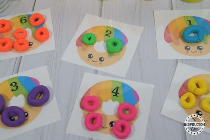 Donut Counting Mats