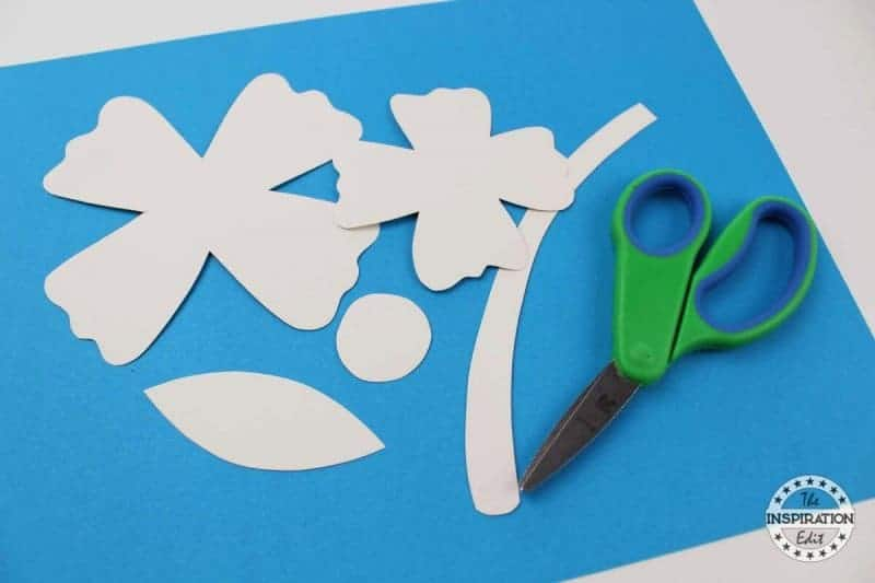 Painted Flower Art And Craft For Preschool