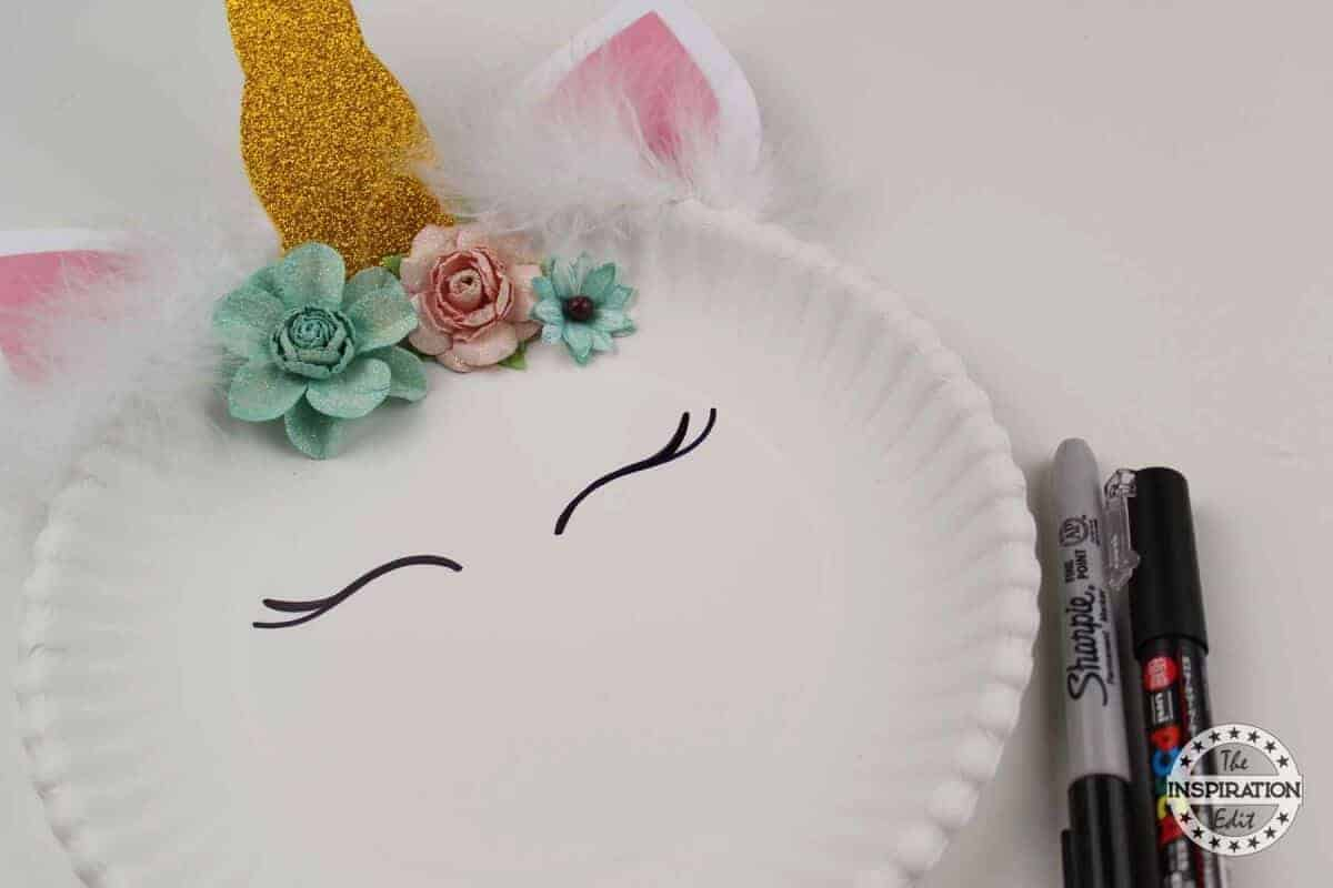 DIY Unicorn Paper Plate craft With Free Template