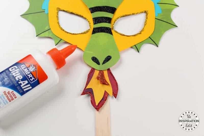 dragon mask craft