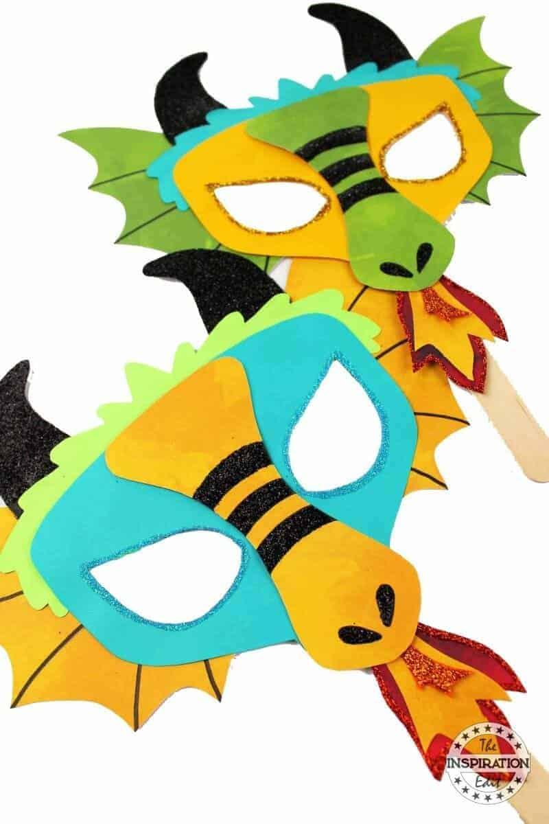 a fantastic dragon craft for preschool kids