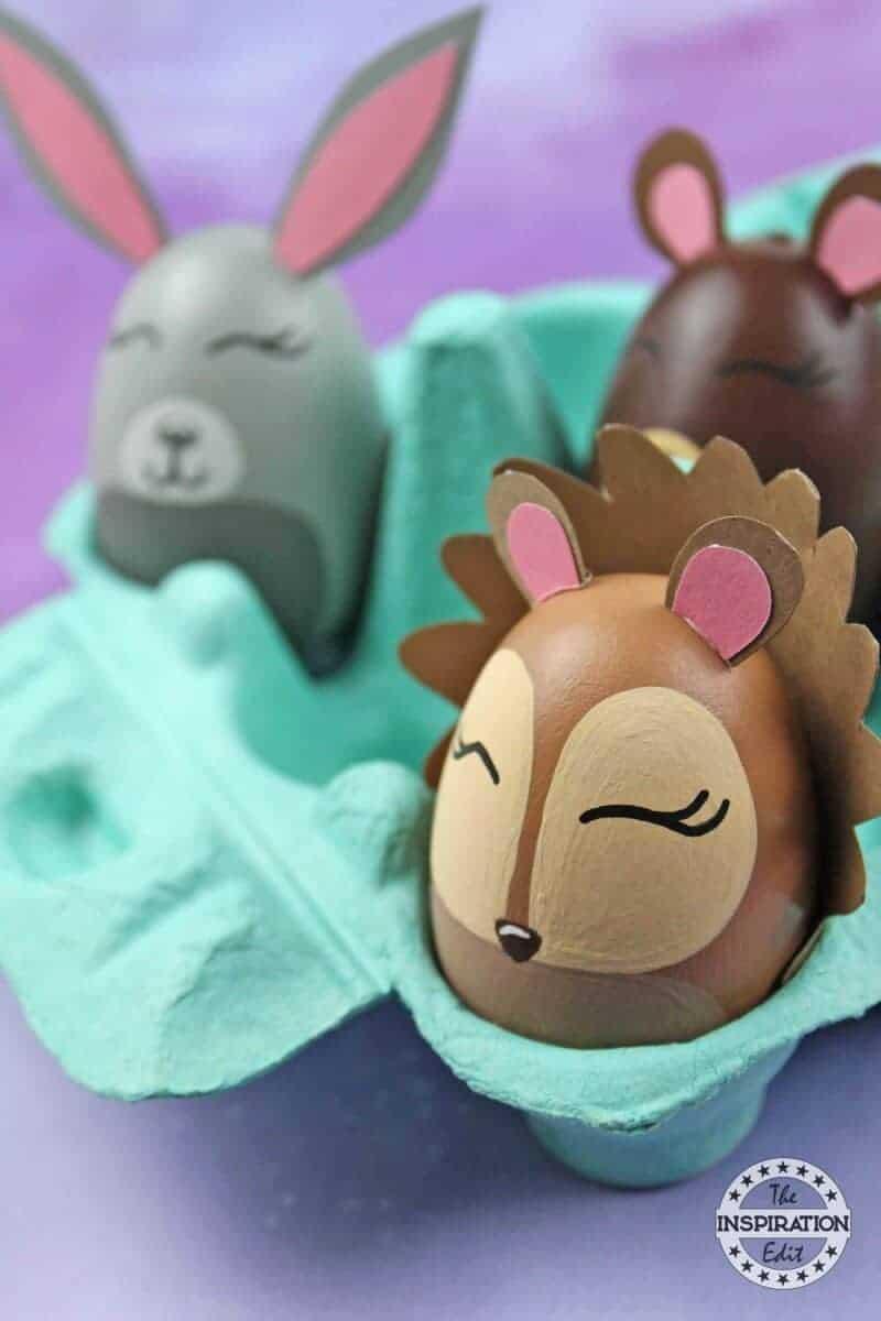 Bear And Hedgehog preschool Craft