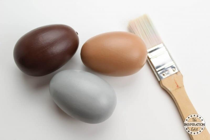 painting eggs for your preschool craft