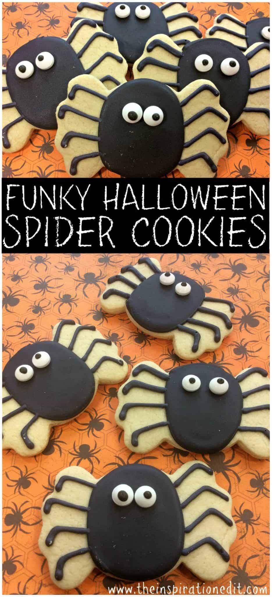 Halloween Spider Cookies A simple and easy recipe