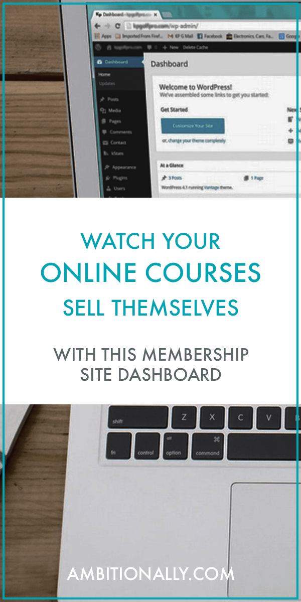 how to build an interactive membership site dashboard