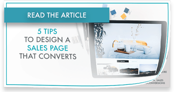 sales pages that convert