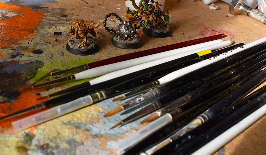 10 miniature painting tips (stuff I learned the hard way)