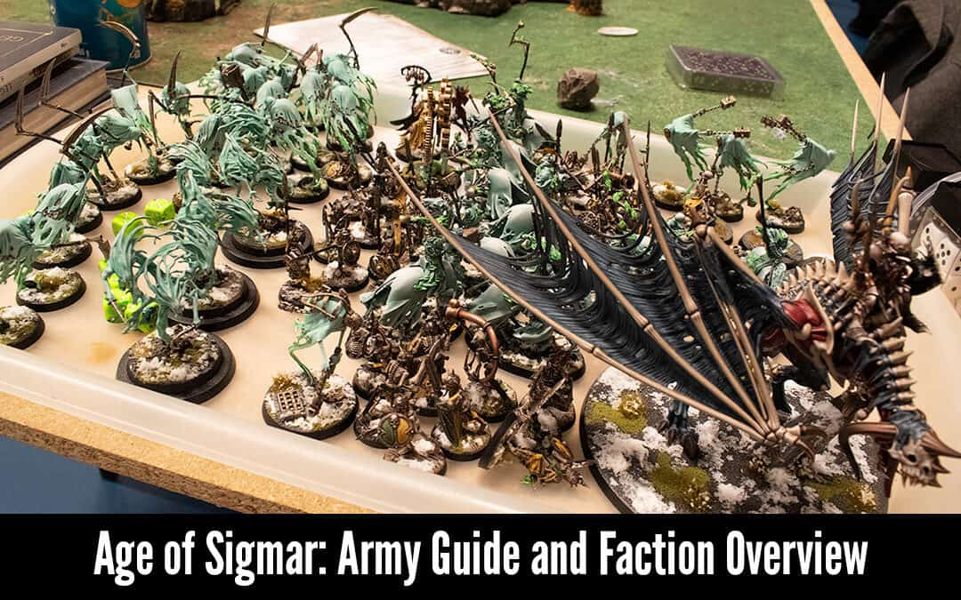 Age of Sigmar Armies Guide: a Faction and Race Overview