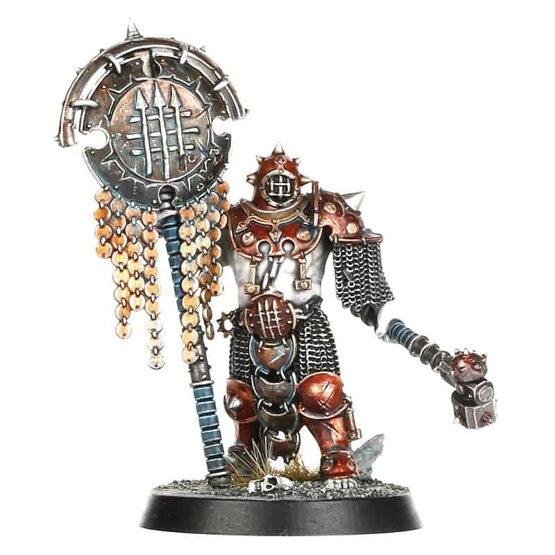 Signifer for the Iron Golems Warcry Warband