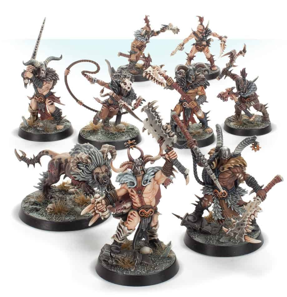 The Untamed Beasts Warband for Warcry