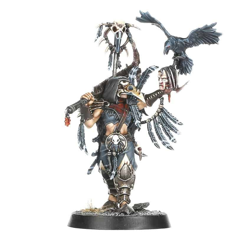 Shadow Piercer for the Crovus Cabal Warcry Warband