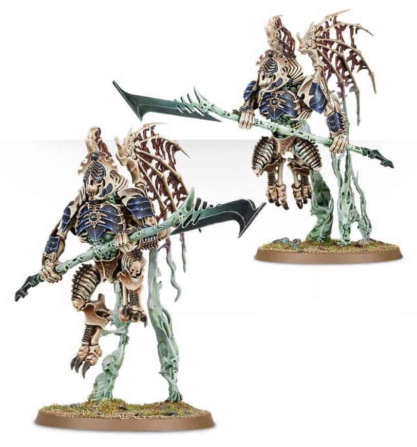 Morghast Archai  in the upcoming Ossiarch Bonereapers Death release for Age of Sigmar