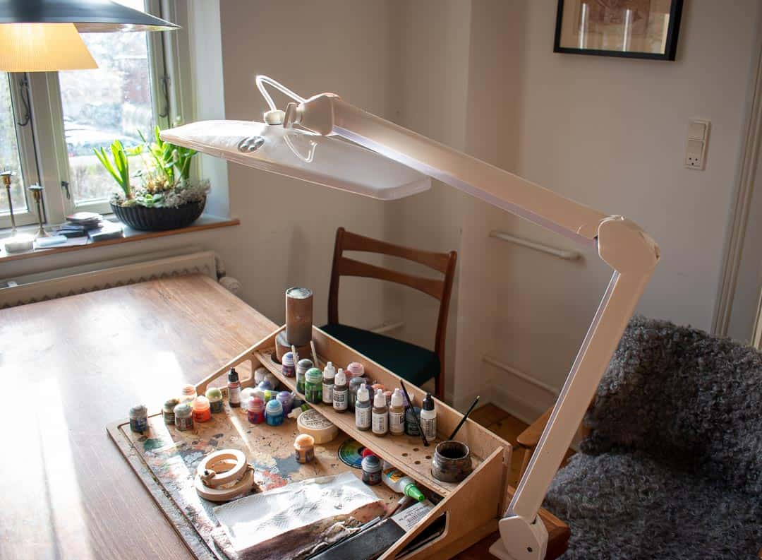 Best Lamp and Light for Painting Miniatures and Warhammer