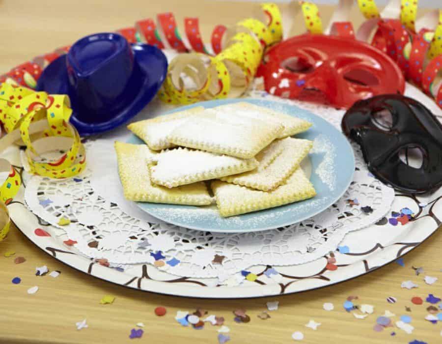 Chiacchiere al forno Ricette per bambini 4-10 anni