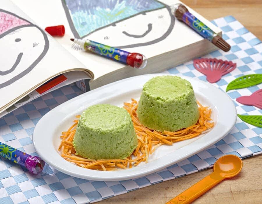 Budini di fave Ricette per bambini 1-3 anni