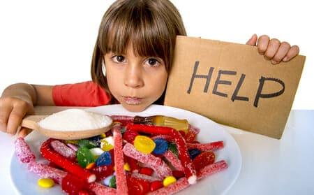 Zucchero: mai a bambini sotto i 2 anni