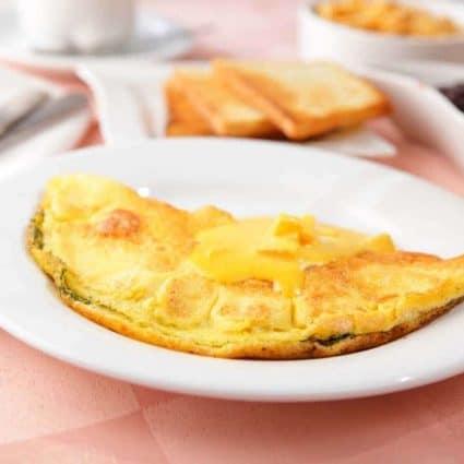 Omelette all'arancia