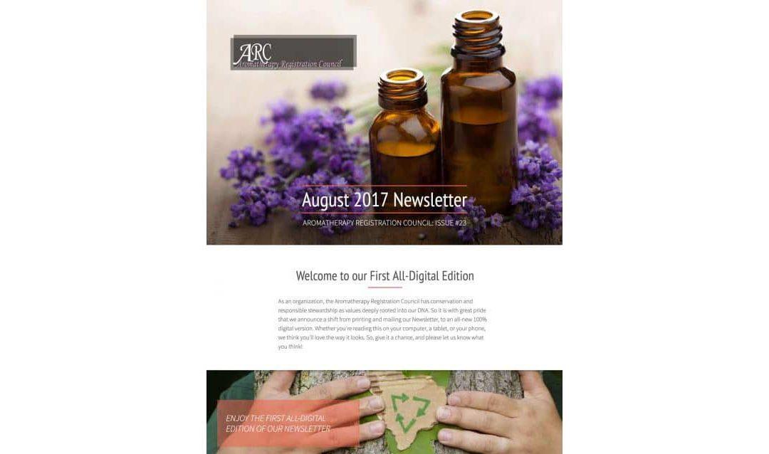 August 2017 Newsletter