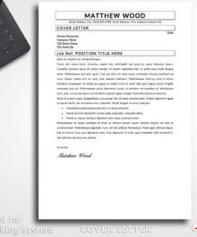 Resume Template Matthew Wood Cover Letter Professional Resume Resume Template For Word and Pages (Mac) - Simple Resume Template Instant Download, Easy Edit, Professional Resume Template | Check more resume templates, how to answer interview questions and many career tips at www.bestresumes.info