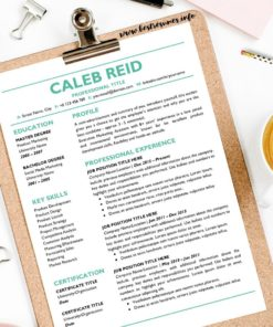 Professional Resume Template Caleb Reid Two Column Resume Template Google Docs - Two Page Job Resume Template Google Docs Instant Download, Easy Edit, Curriculum Vitae Template Google Docs | Check more Resume Templates for Google Docs, Resume Template in Google Docs, and Best Resume Template Google Docs Examples at www.bestresumes.info #resumetemplate #resume #resumedesign