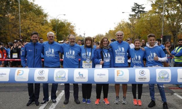 Madrid vuelve a dar visibilidad a la diabetes con deporte