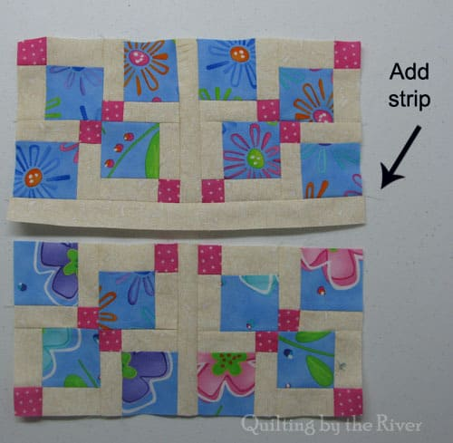 Mini Disappearing 9 patch tutorial
