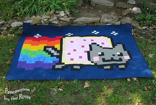 The first Nyan Cat Quilt