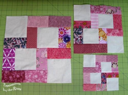 Crossroads block in 3 sizes