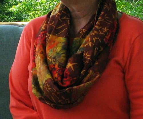 Quick Quilted Gifts Infinity Scarf
