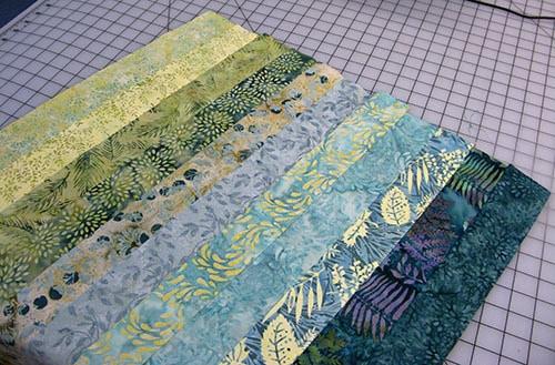 Crystal Cove batik collection