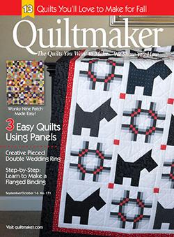 Quiltmaker Magazine Sept/Oct 2016