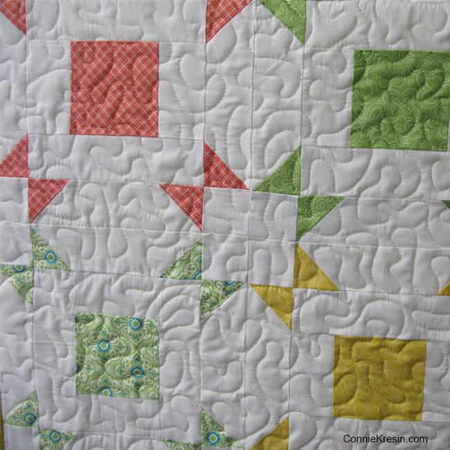 Layer Cake Pop quilting