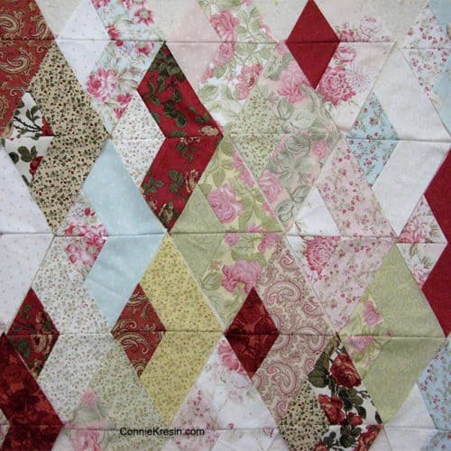 60 Degree Equilateral Triangle Quilt Blocks