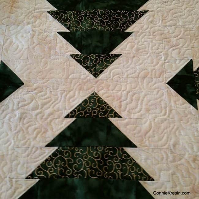 Christmas Tree quilting