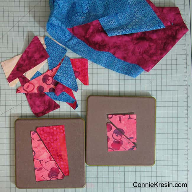 Scappy AccuQuilt Dies and batiks