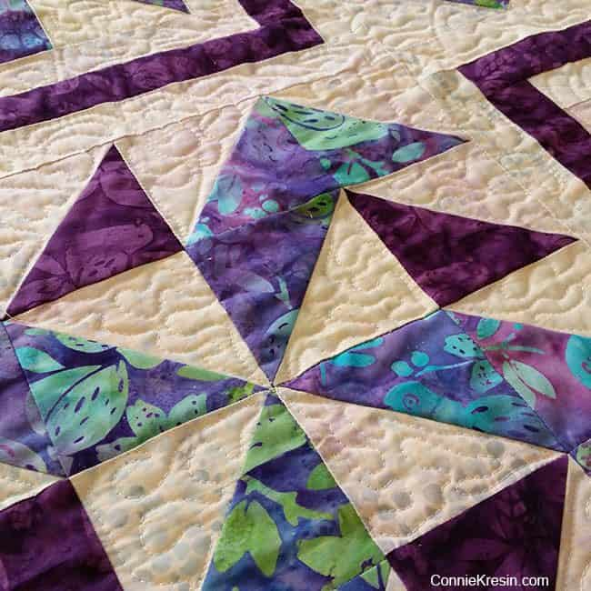 Spinners quilt pattern quilting