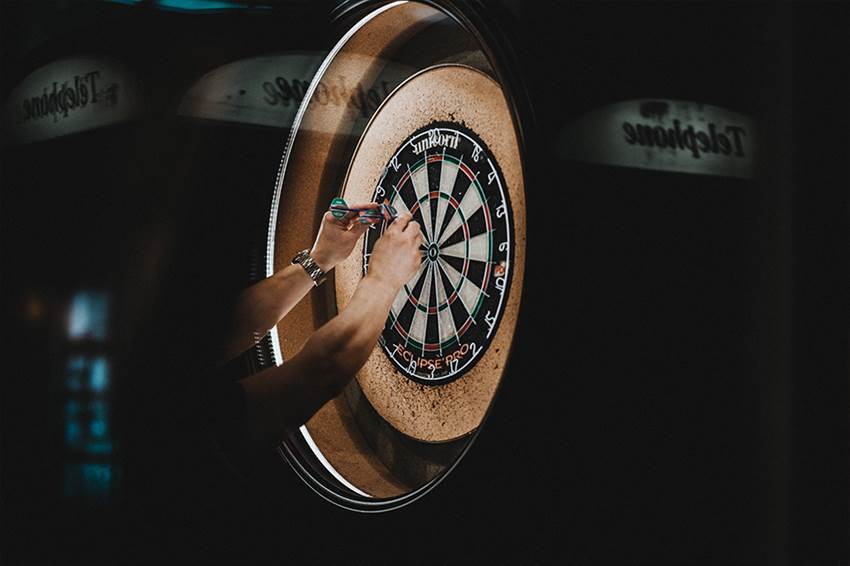 How to protect your wall when playing darts