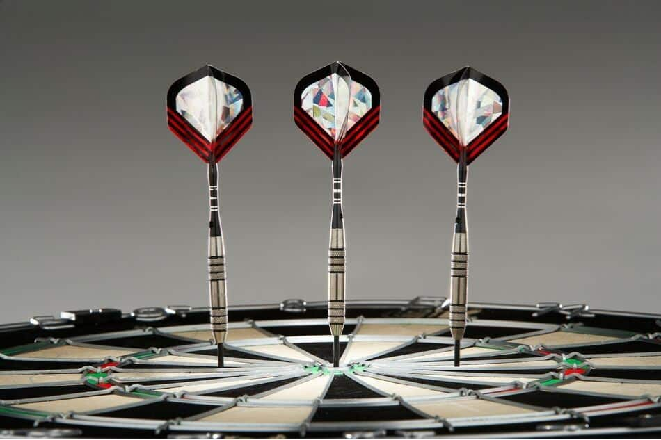 What is a perfect game of darts?