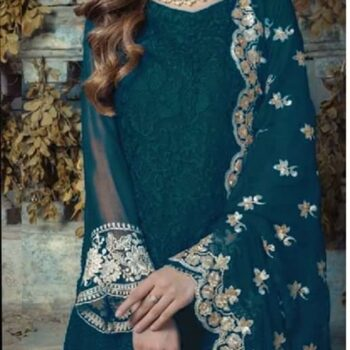 Agha Noor Chiffon Party Wear Master Replica