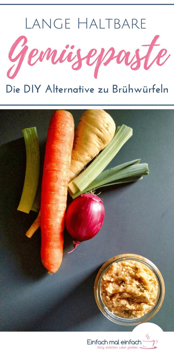Selbstgemachte Gemüsepaste - die Alternative zu Brühwürfeln - Bild 3