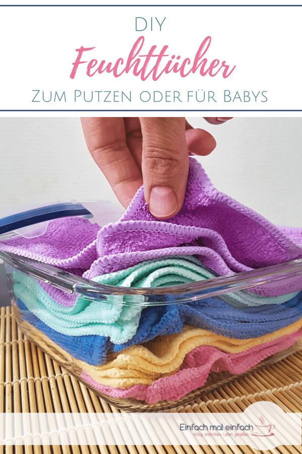 Feuchttücher selber machen - zum Putzen oder für Babys - Bild 3