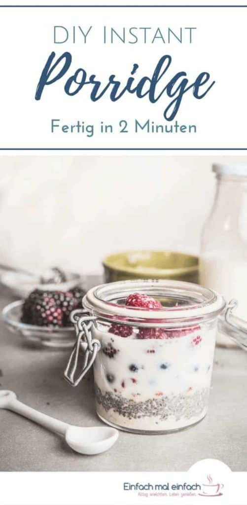 Instant Porridge selber machen - Bild 5