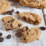 Haferflocken-Rosinen Cookies - Bild 6