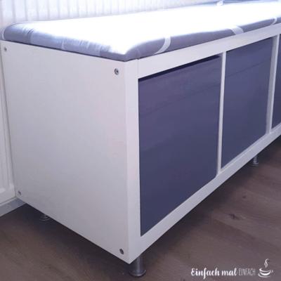 IKEA Eckbank aus Kallax Regalen