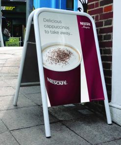 A Board Pavement Sign