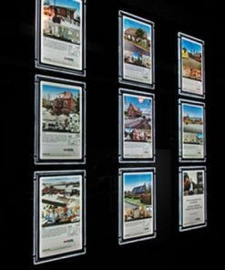 LED A2, A1 and A0 Estate Agent Window System