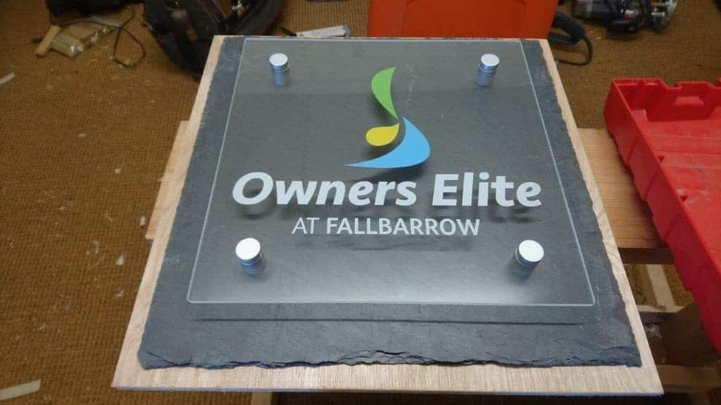 Owners Elite Outdoor Plaque manufactured by Fantasy Prints